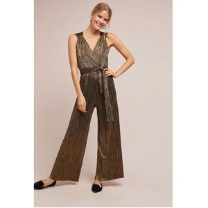 NWT Anthropologie pont neuf jumpsuit